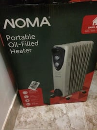 Noma oil filled radiant heater like new used only once $50
