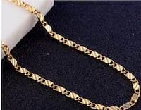18K SOLID GOLD FILLED CHAIN NECKLACE Memphis, 38117