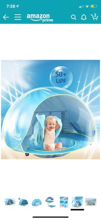 Baby pool tent New York, 10460