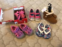 Toddler Girl Shoes – Size 7/8 – 5 Pair Honolulu, 96818