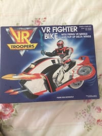VR Troopers Fighter Bike 1995 New in Box. Pickup in Beverly  Beverly, 01915