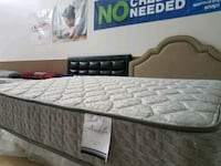 NEW King size mattress Pillowtop, foam base $260! Coahoma