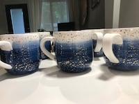 blue and white ceramic pitcher Vancouver, V5T
