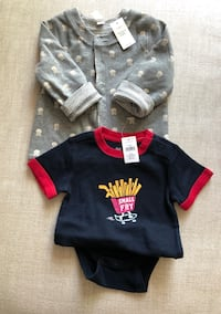 Baby Gap Jacket & Shirt NEW WITH TAGS - $10 for both! Markham, L3P 0C8