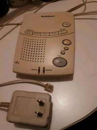 radio shack anwsering machine works good