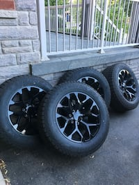 20x9.5 GM Replica wheels with tires Milton, L9T 5Y7