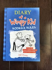 Diary of a wimpy kid RODRICK RULES Vaughan, L4H 0Z9