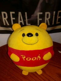 Whinnie the pooh plushie