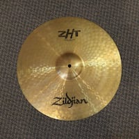 "Zildjian ZHT Cymbale Medium Thin Crash 16"" - used-usagée MONTREAL"