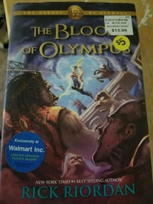 The blood of Olympus book