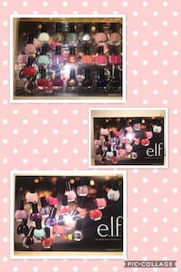 assorted colors Elf nail polish bottle lot photo collage Whitehall, 18052