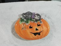 Fitz and Floyd collectible Halloween canape plate Beaumont, 92223