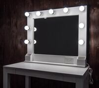 Vanity Mirror with Power Outlet
