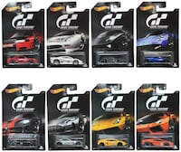 Hot Wheels 2016 Gran Turismo Bundle Set of 8, 164 Scale Toronto