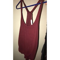 women's red sleeveless top Imperial, 92251