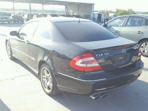 2003 MERCEDES CLK55 AMG FOR PARTS PARTING OUT W209 CLK CLK350 CLK500