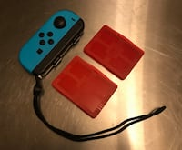 Joy-con with game cases (L/Blue) Benbrook, 76116