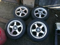 Civic Rims 4x100  372 mi
