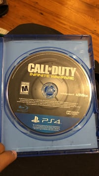 Call of Duty Infinite Warfare PS4 game disc