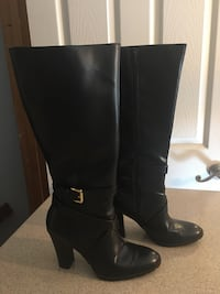 Tall Black Boots (Size 9)