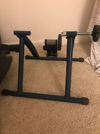 Indoor excercise bike trainer stand resistance stationary bike stand