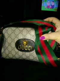 black and green Gucci leather bag Winchester, 22601