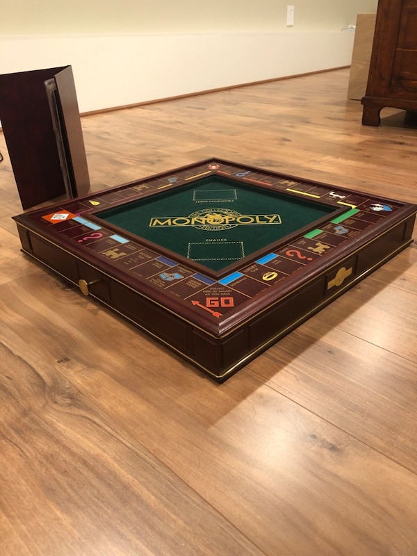 Franklin Mint Limited Edition Wooden Monopoly