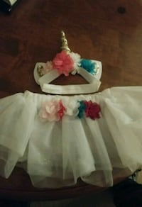 Baby tutu with unicorn headband Fresno, 93726