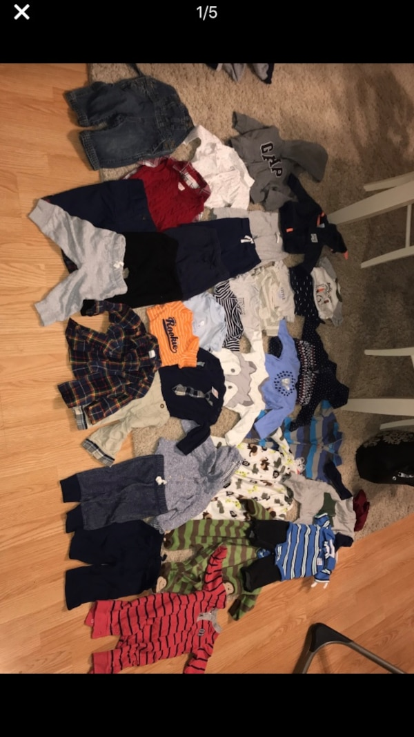 Used 3 6 Month Baby Boy Clothes Lot For Sale In Simpsonville Letgo