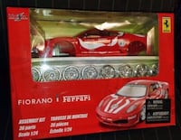 Maisto F430 Fiorano Ferrari Assembly Kit 36 Parts Die Cast Metal Model Kit 1:24  Brand new in the box.  Assembly kit 36 parts, Scale 1:24  VIEW MY OTHER ADS!!!