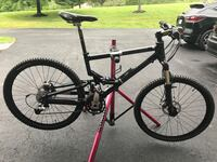 Moutain bike and stand