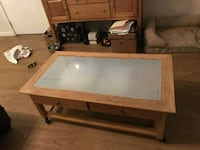 Wood/Glass Coffee Table  Arlington, 22204