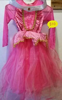 5\6 Little girls Sleeping Beauty Costume Bakersfield, 93306