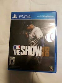 Sony PS4 The Show 18 Kitchener, N2N 1C7