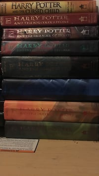 Full Harry Potter hard cover  book set (includes Harry Potter and the Cursed Child) Tacoma, 98409