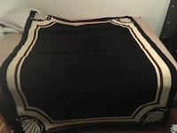 black and white area rug Langley, V3A 1M4