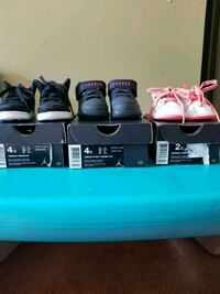 Three pairs of Baby Jordan Nikes Oxon Hill