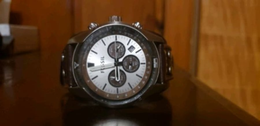 Watch fossil man color brown  4d35df66-fbb4-487e-87f5-9ab0cd13d99c