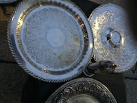 Silver plated serving platers New Orleans, 70122