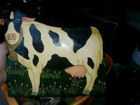 Vintage tin metal wall hanging cow Point Pleasant, 08742