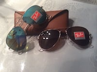 Authentic brand new RayBan Aviator Glasses. 100$ each or 2/180$ 781 km