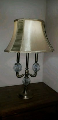 two stainless steel base table lamps Oakville, L6M 1X8