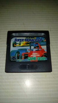 Sega game gear, super monaco gp