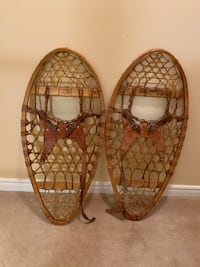Vintage Faber Bear Snow Shoes with Bindings Markham, L3T 3L4