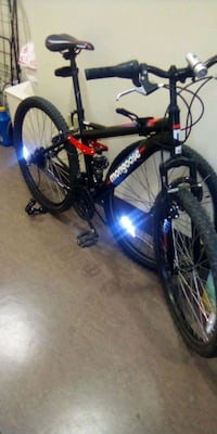 black and red hardtail mountain bike Los Angeles, 91343