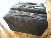 3 matching soft sided suitcases Rocky Point, C0A 1H2