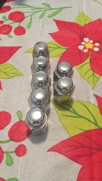 silver-colored and white candle holders Edinburg, 78541