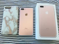 Rosegold Unlocked iPhone 7 Plus 128gb Mississauga, L5B