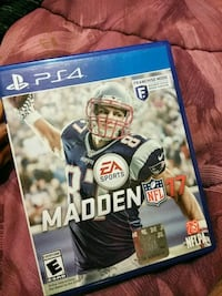 Madden NFL 17 PS4 game case Heiskell, 37754
