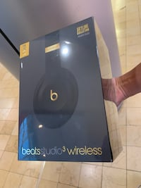 -BRAND NEW-Beats Studio 3 Midnight Black
